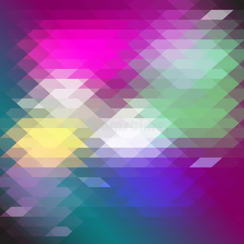 Mosaico olorful del ¡de Ð ilustración del vector