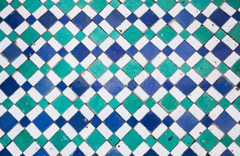 Mosaico oriental em Marrocos, Norte de África fotos de stock