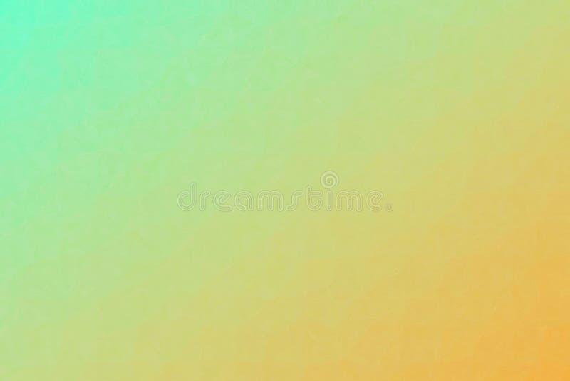 Mosaico pastello verde e giallo attraverso l'illustrazione del fondo dei mattoni di vetro illustrazione vettoriale