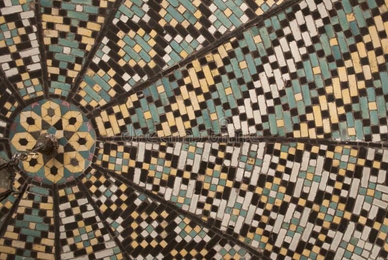 Mosaico persiano immagine stock