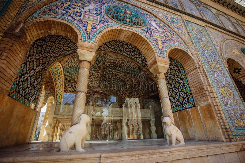 Mosaico persiano, Teheran fotografie stock libere da diritti