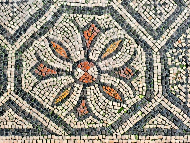 Mosaico romano foto de stock