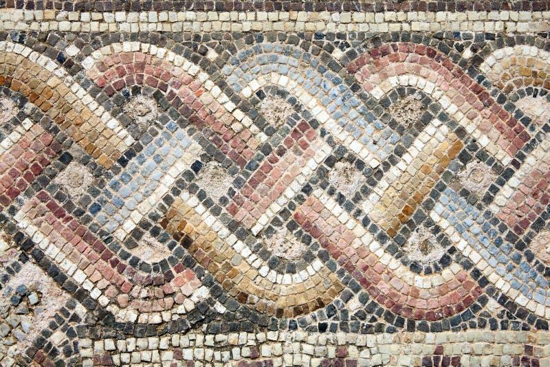Mosaico romano immagine stock immagine di rovina greece for Mosaico romano