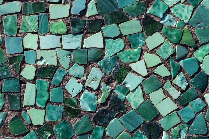 Mosaico sul fondo dello stagno fotografie stock