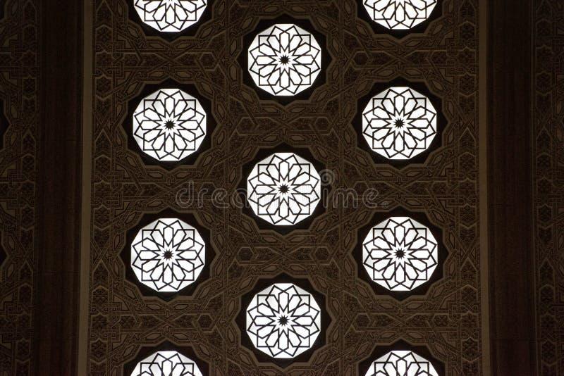 Mosaico tradizionale marocchino immagine stock libera da diritti