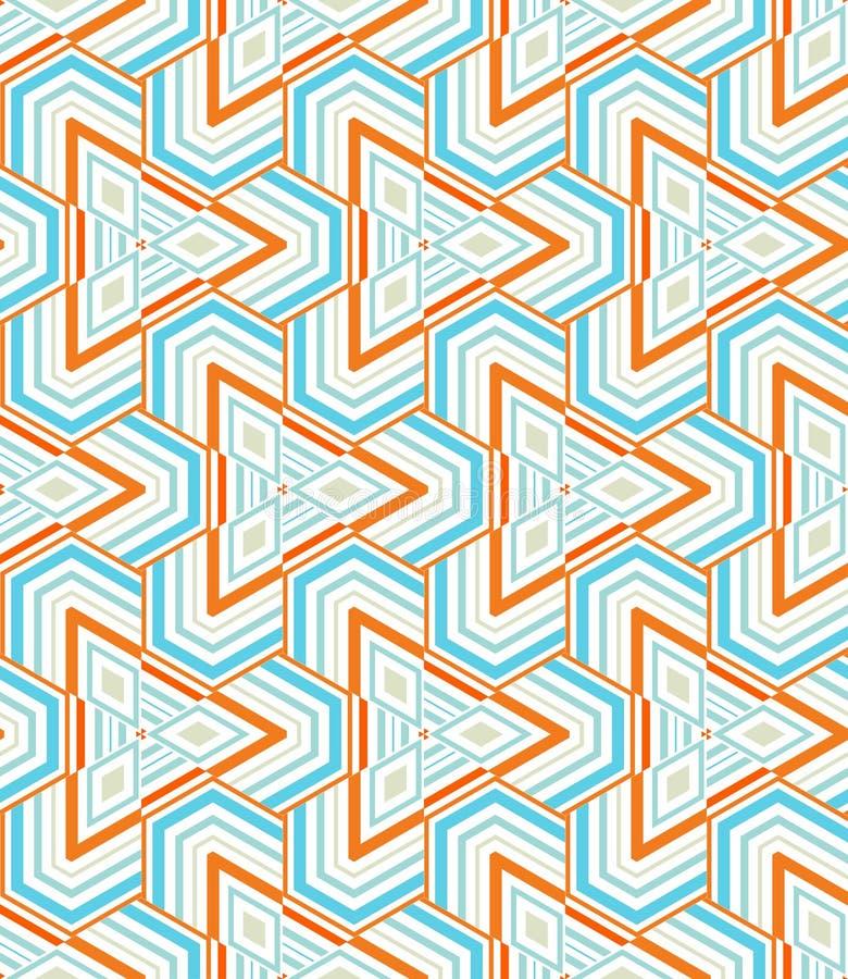 Mosaico triangolare immagini stock
