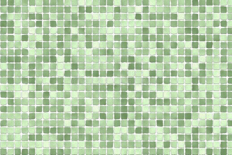 Mosaico verde imagem de stock royalty free