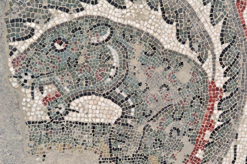 Mosaicos da casa de campo romana do armerina da praça imagem de stock royalty free