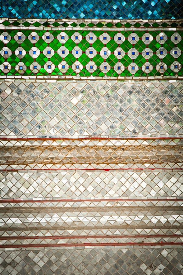 Mosaicos del vitral fotografía de archivo