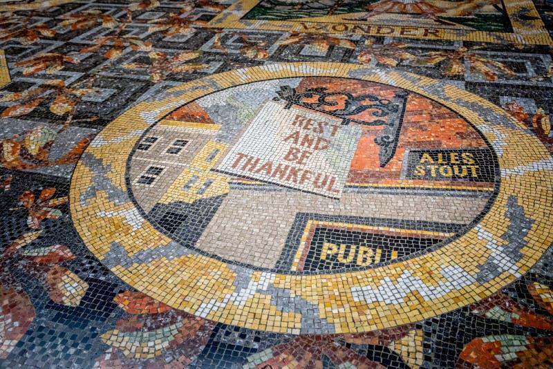 Mosaicos do National Gallery foto de stock royalty free
