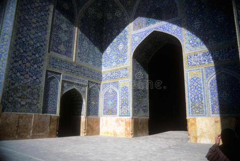 Mosaicos persas intricados, imagem de stock