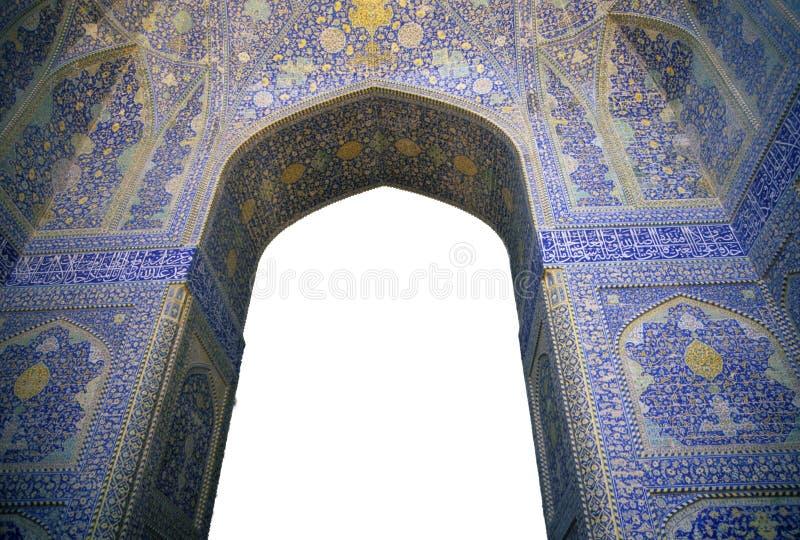 Mosaicos persas intricados fotografia de stock royalty free