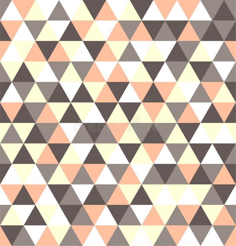 Mosaik av olika skuggor av pastell - som är gråa som är rosa som är vita och som är gula vektor illustrationer