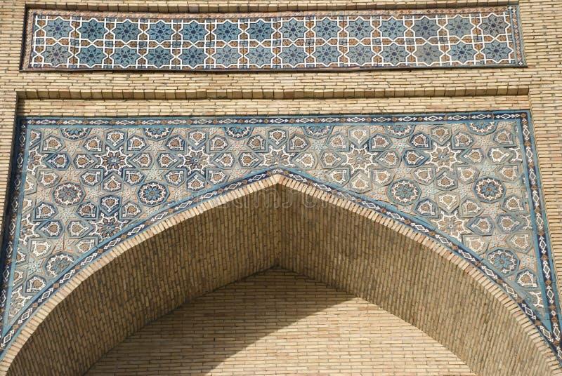 Mosaik der Moschee Hazrati Imom lizenzfreies stockfoto