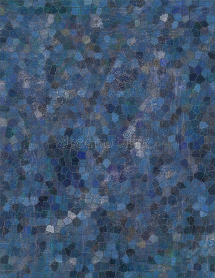 Mosaik des Blaus lizenzfreies stockbild
