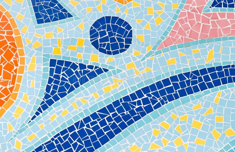 Mosaik-Fliesen lizenzfreies stockbild