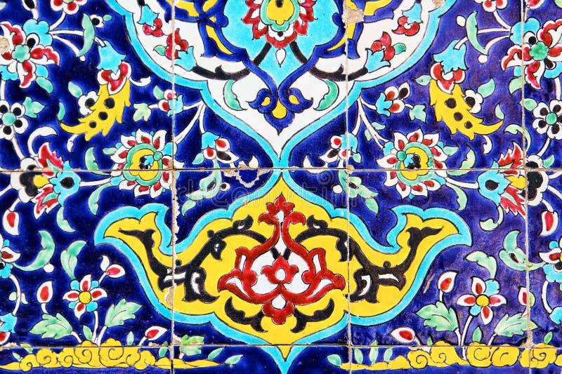 Mosaik-Malerei stockbild