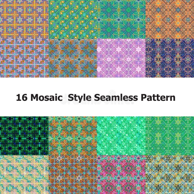 Mosaik 0ne lizenzfreie stockfotografie