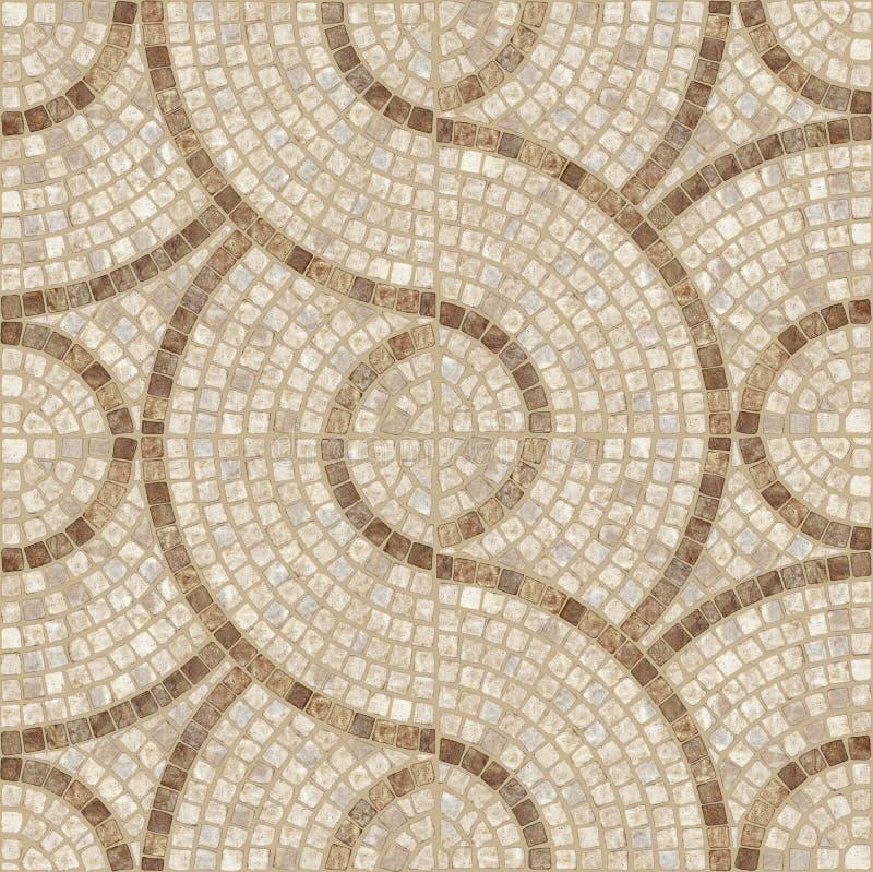 Mosaikbeschaffenheit. stockfotografie