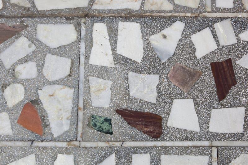 Mosaikbeschaffenheitshintergrund stockfotografie