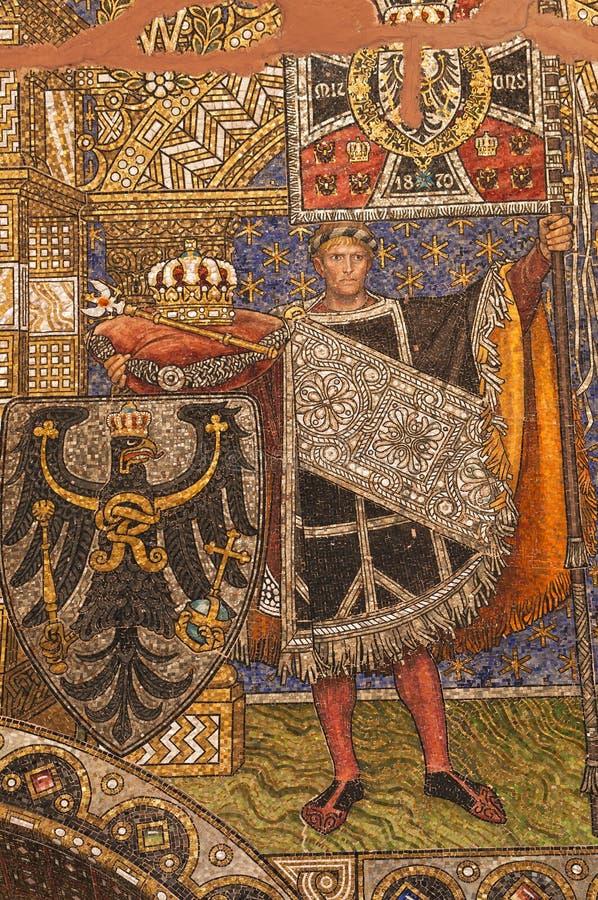mosaikbild arkivfoton