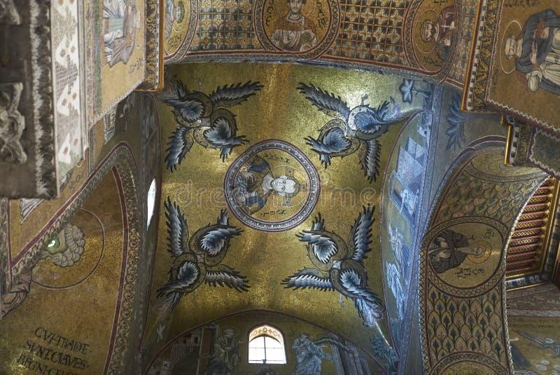 Mosaiker av kapellet av helgedomen av Holies royaltyfria bilder