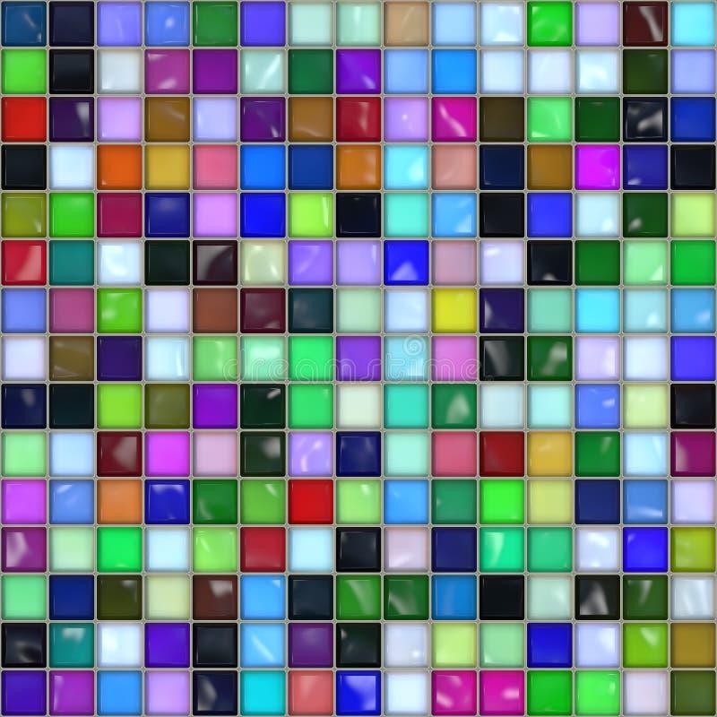Mosaikfliese. stockbild