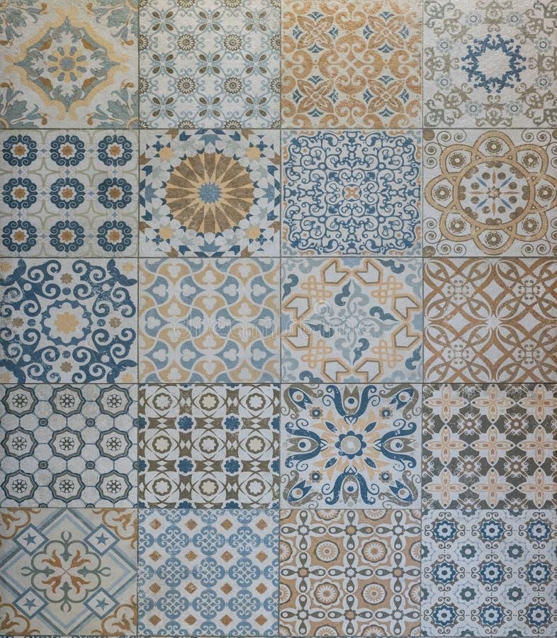 Mosaikfliese tecture, Steinbeschaffenheit, Fliesenbeschaffenheit lizenzfreie stockfotos