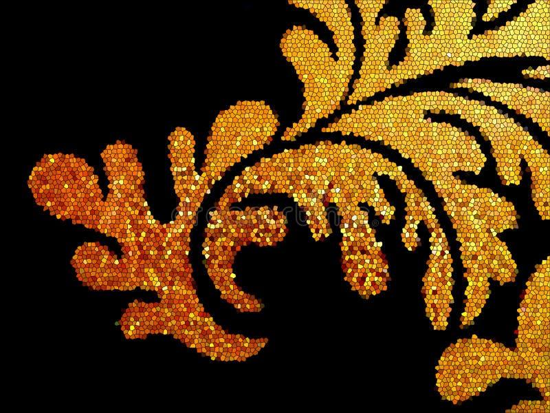 Mosaikfliesen stockbilder