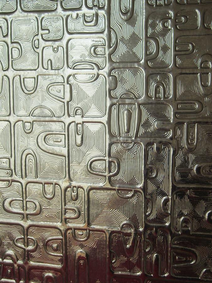 Mosaikglas-Hintergrundbeschaffenheit stockfoto