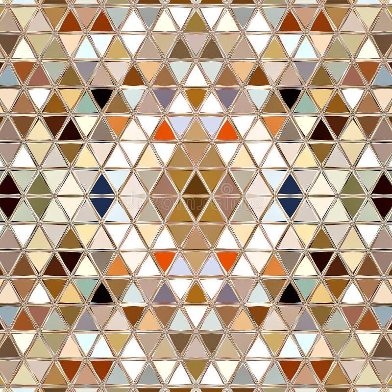 Mosaikmuster-Beschaffenheitshintergrunddekoration graphik lizenzfreie stockfotos