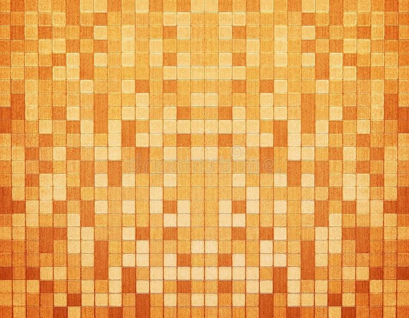 mosaikwallpaper royaltyfri illustrationer