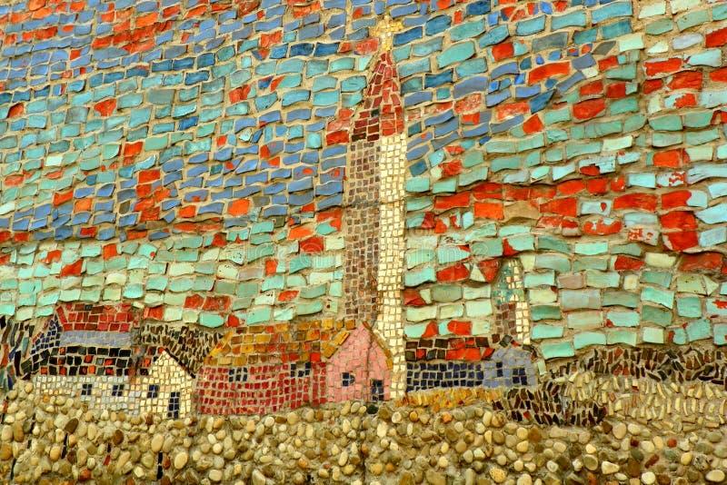 Mosaisk konst royaltyfria bilder