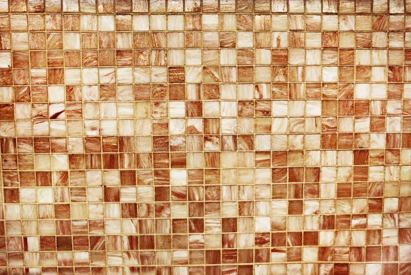 Mosaiska tegelplattor arkivbilder