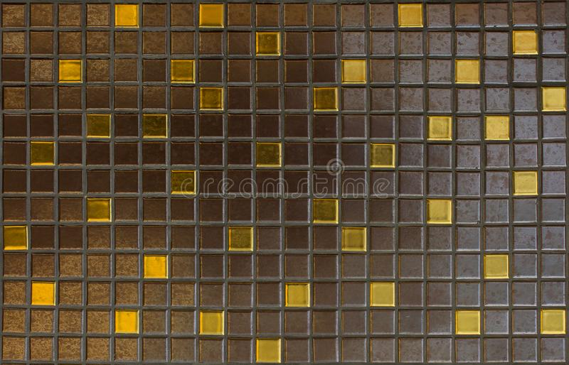 Mosaiska tegelplattor, textur, bakgrund royaltyfri fotografi