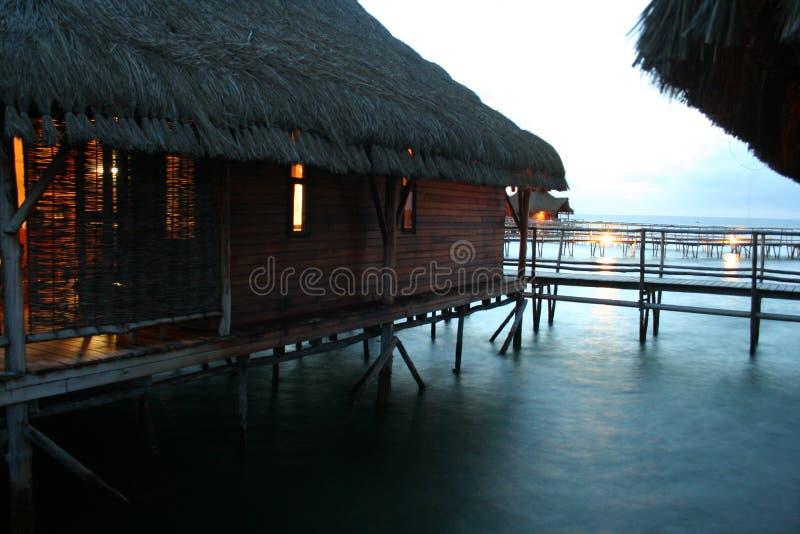 Mosambik-Hotel Lizenzfreie Stockbilder