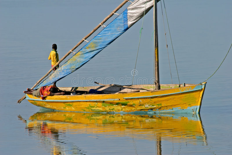 Mosambikdhow lizenzfreie stockbilder