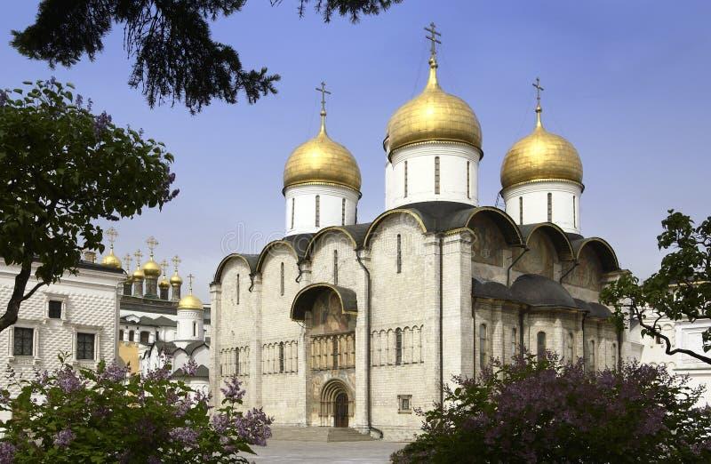 Moscú - catedral de la asunción foto de archivo libre de regalías