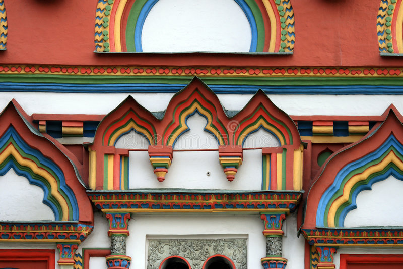 Download Moscú. Iglesia. Detalles imagen de archivo. Imagen de diseño - 7277375