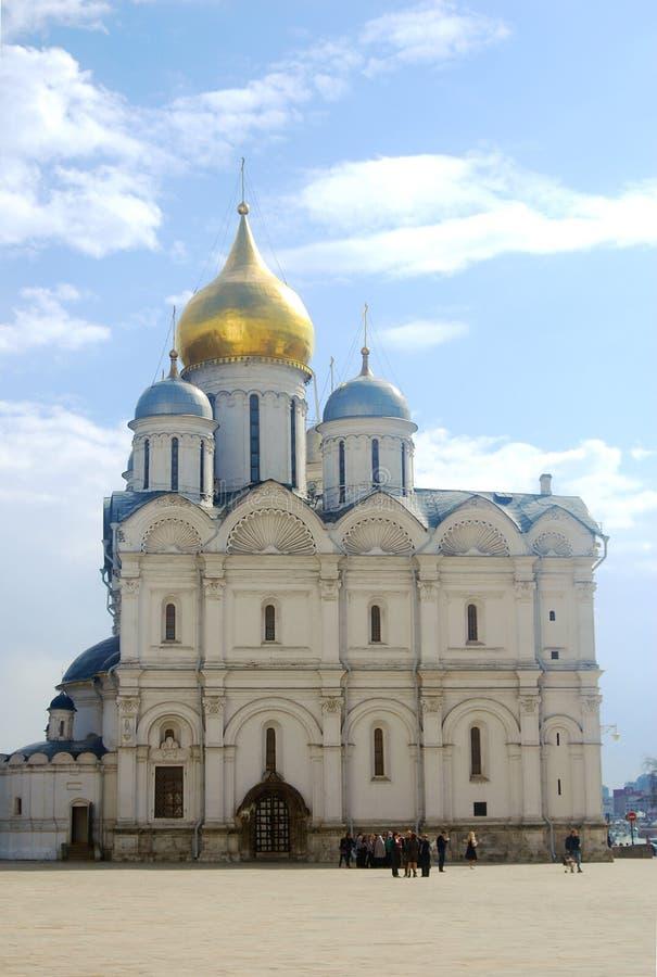 Moscú Kremlin, catedral de los arcángeles imágenes de archivo libres de regalías