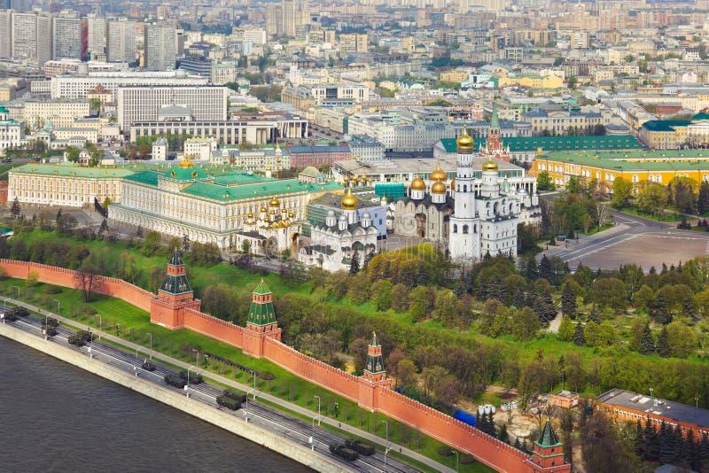 Moscú Kremlin - Rusia imagen de archivo libre de regalías