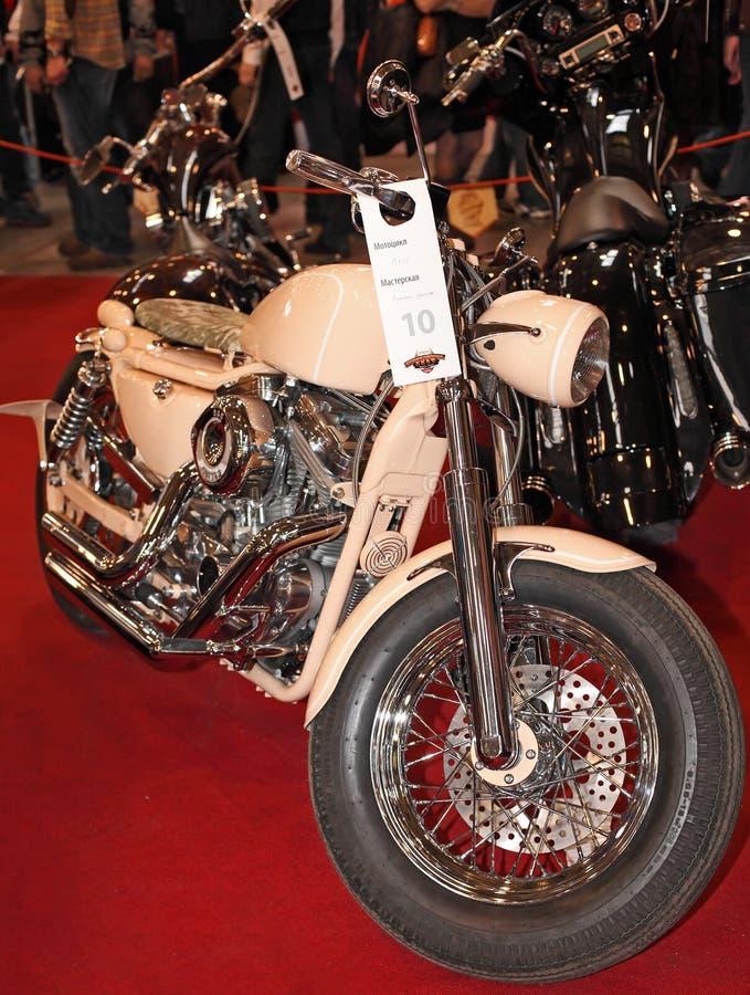 MOSCÚ, RUSIA - MARCH-02-2013: 10mo Motocicleta internacional ex fotos de archivo