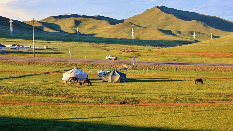 Moscú - Ulaanbaatar - Pekín 2016 fotografía de archivo libre de regalías