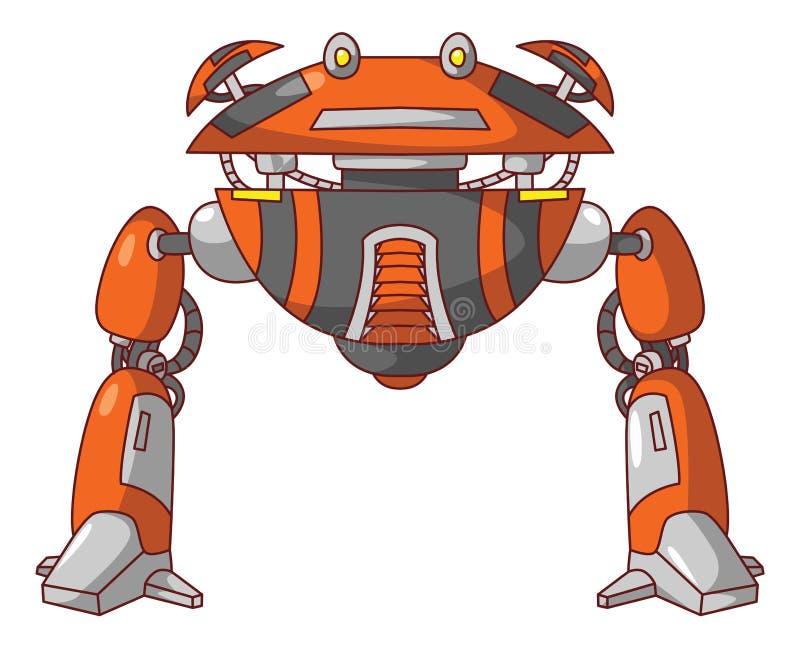 Mosca del robot illustrazione vettoriale