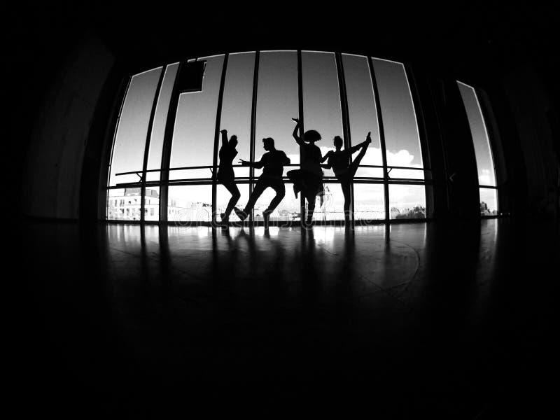 Mosca e dança fotografia de stock royalty free