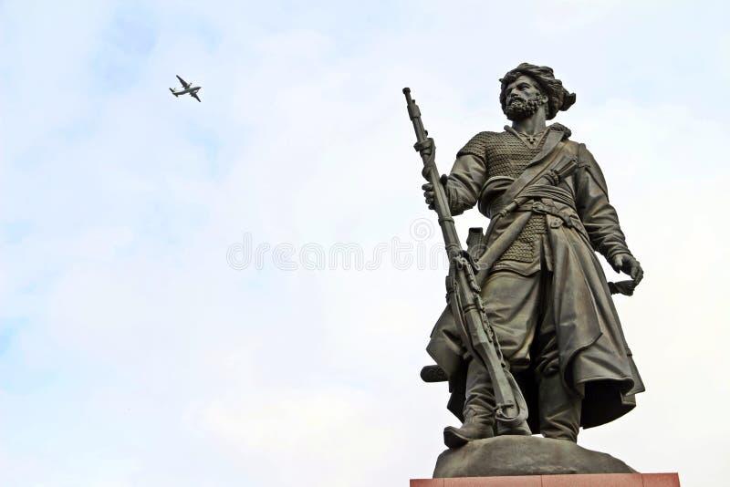 Mosca a Irkutsk imagenes de archivo