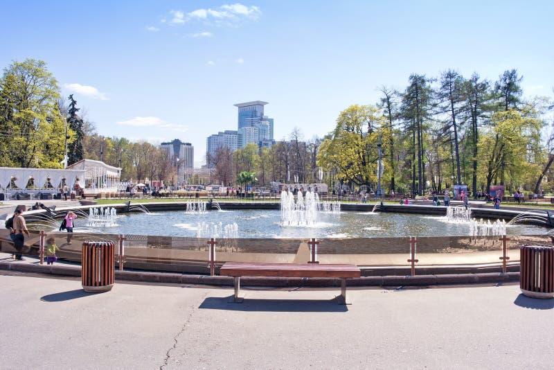 mosca Parco di Sokolniki fotografia stock