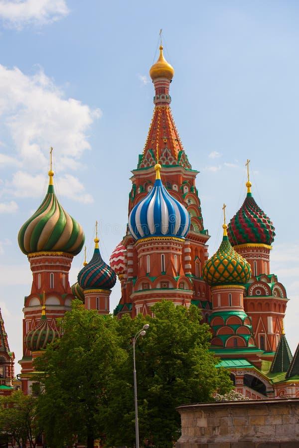 Mosca in primavera fotografia stock