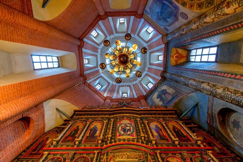 MOSCA, RUSSIA - AGOSTO 2015: Cattedrale di StBasil fotografie stock