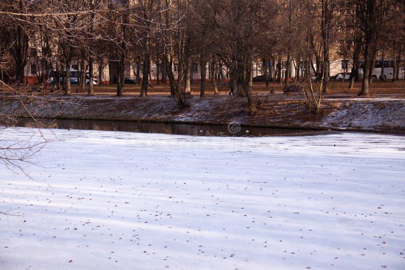 MOSCA RUSSIA Parco di Izmailovo fotografia stock